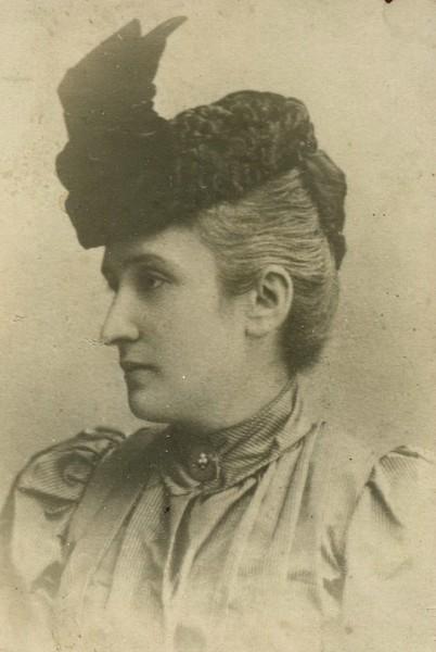 Фелиция-Валерия Феликсовна Лозинская (Кублицкая-Пиоттух) (1858-1934)