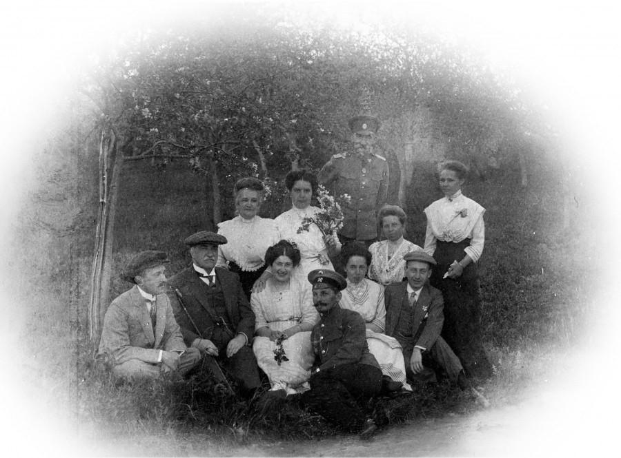 Семья Кублицких-Пиоттух. 1912 год.
