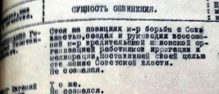 Дело контрреволюционной вредительской организации в системе ирригации и мелиорации 1928-1931 гг. (1)