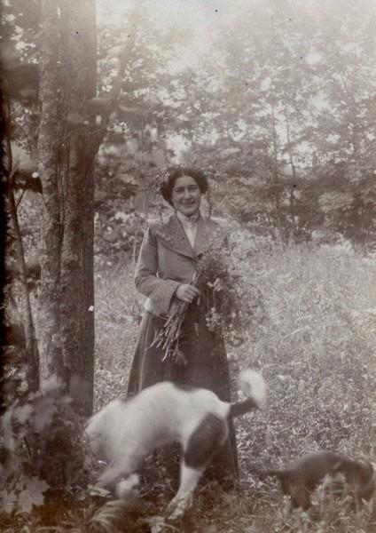 Прабабушка Анна Евгеньевна Стратонитская (Лозинская) (1887-1952)